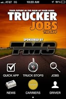 Screenshot of Trucker JOBS