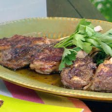 Grilled Lamb Chops with Rosemary, Salt, and Tapanade Aioli