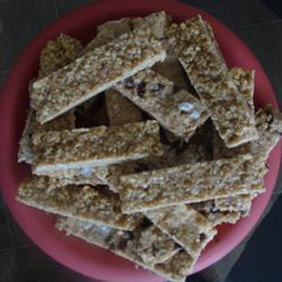 Apricot Cereal Bars
