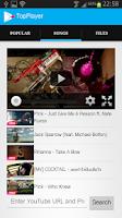 Screenshot of Top Free Music 100%