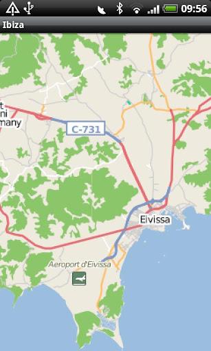 Ibiza Street Map