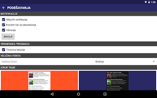 Screenshot of B92
