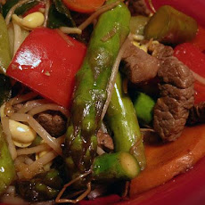 Ginger Beef Stir-Fry (Low Fat)