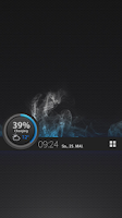 Screenshot of BatteryProgBar dark UCCW Skin