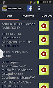 Americana Radio - screenshot