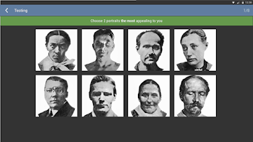 Screenshot of The Szondi Personality Test