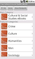 Screenshot of Social Study eBooks