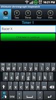 Screenshot of Ultimate Chronograph Stopwatch
