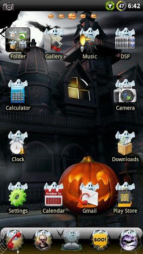 Halloween GO Launcher EX Theme