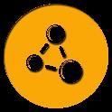 GO Black Orange Theme icon