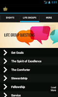 Screenshot of GCF Wharton