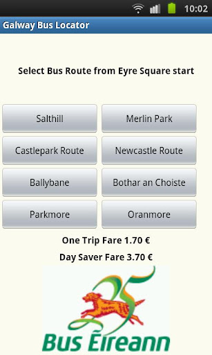 Galway Bus Timetable