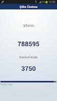 Screenshot of Halkbank Şifrebaz Cep