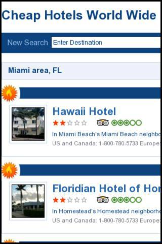 Cheap Hotels World Wide