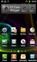 Screenshot of EZ Cam Widget
