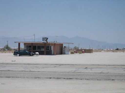 Ruiny na Route 66