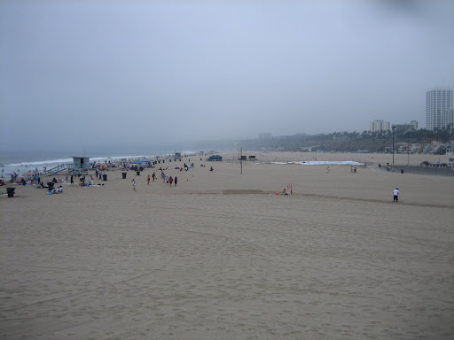 Słoneczne plaże Kalifornii