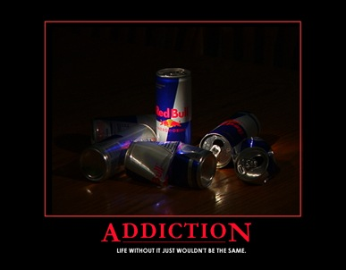 Red Bull - the official drink of Gracepoint Video team