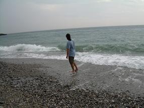 otro bicho, playa de maro