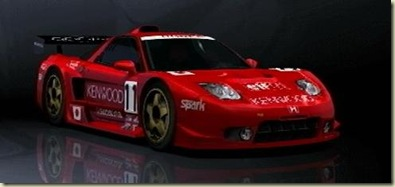 Honda NSX-R Prototype LM Race Car