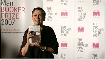 Anne Enright in London after winning the Man Booker prize. (Photo: The Associated Press)