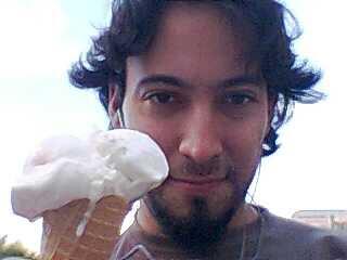 Pedazo de helado que disfruté :)