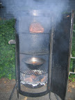 Brinkmann Smoker With Boston Butt