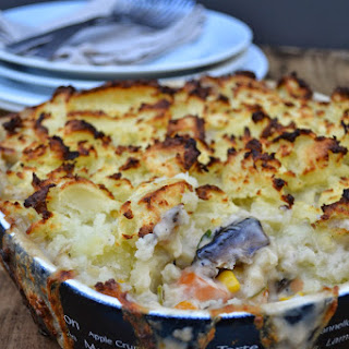 Mash Topped Vegetable Pie