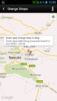 Screenshot of myOrange Kenya