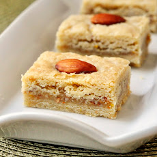 Orange Almond Cookie Bars
