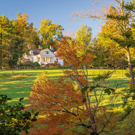 Carl Sandburg House by Marc Novell - Buildings & Architecture Public & Historical ( fall )