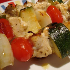 Lemon Chicken Skewers (Kabobs)