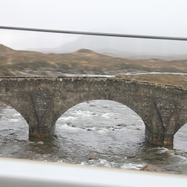 Bridge in the Highlands by Chris Torrie - Buildings & Architecture Bridges & Suspended Structures ( water, scotland, bridge, highlands )
