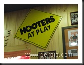 Hooters at play
