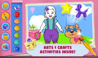 Screenshot of Baby Arts & Crafts