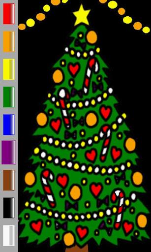 Ad Free Christmas Coloring