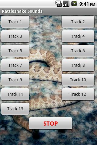 ガラガラヘビのサウンドエフェクト
