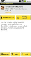 Screenshot of Yellow Pages for Android