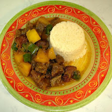 Spiced Beef Tajine With Pumpkin and Green Peppers