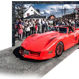 Askim, Norway 091 by IP Maesstro - Transportation Automobiles ( car, clouds, hdr, automobile, transportation, maesstro, people, norway, city, sky, racing, askim, out )