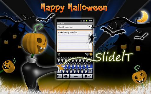 SlideIT Happy Halloween Skin