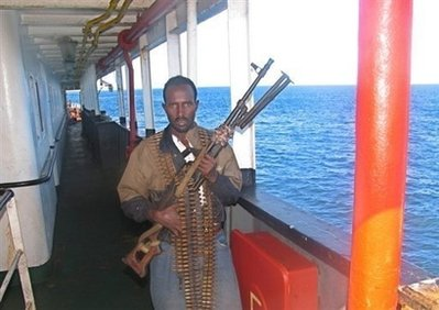 Somali gunman south of Mogadishu, September 2008, Sept. 2008