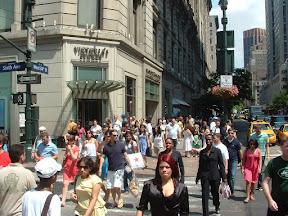 Chodnik w NY