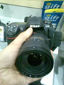Nikon D300 w moich rekach:)
