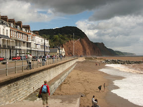 The Esplanade at Sidmouth