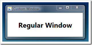 RegularWindow