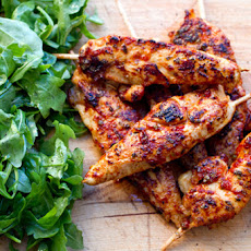 20 Minute Paleo Meals: Marjoram Chicken Skewers