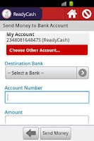 Screenshot of ReadyCash Mobile Money