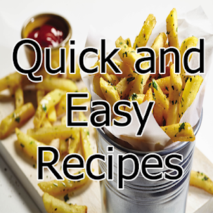 Quick and Easy Recipes - screenshot