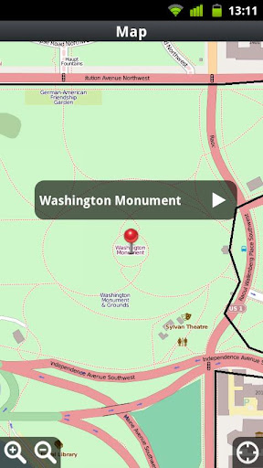 【免費旅遊App】IWalked Washington D.C.-APP點子